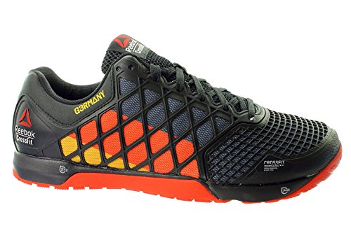 Reebok R Crossfit Nano 4.0M48436Scarpe da ginnastica, da uomo, nero (Black), 43