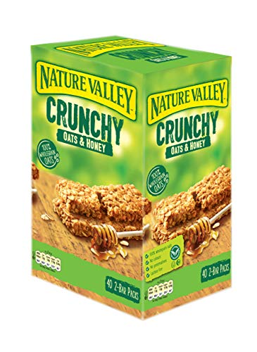 Preisvergleich Produktbild Nature Valley Crunchy Granola Bars Oats 'n' Honey 40 Pack 2 Bars Per Pack