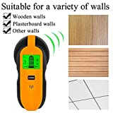 Stud Finder Center-Finding 3-in-1 Metal AC Wire Stud Wall Detector Wall Wire Scanner Wood Finder with LCD Display and Beep Warning Bild 4