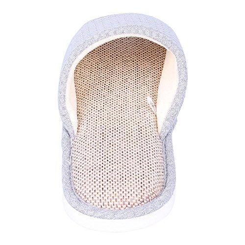 WILLIAM&KATE Unisex Pistoni Casuali Pantofole Anti-Slip Indoor & Outdoor Slipper Piano Slipper Blu