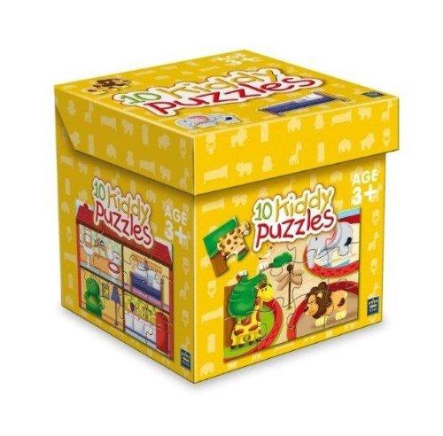King International 4702-Puzzle Box 10diseños Zoo