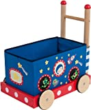 Bieco 4006017 - Lauflernwagen mit Spielzeugbox, 48 x 33 x 54 cm