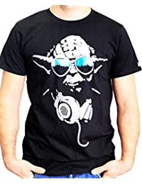 Star Wars Herren T-Shirt Dj Yoda Cool