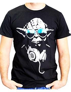 Star Wars Herren T-Shirt Dj Yoda Cool