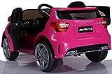 simron Mercedes-Benz A45 AMG SUV Ride-On 12V Kinderauto Kinderfahrzeug (Pink/Rosa) - 2