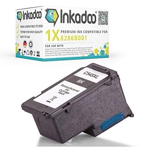 Inkadoo Tinte kompatibel zu Canon Pixma MG 3051 8286B001 XLPG545XL, PG-545XL 8286B001, Premium Drucker-Patrone Alternativ, Schwarz, 540 Seiten, 14 ml