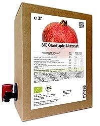 BIO Granatapfel Muttersaft - 100% Direktsaft 3 Liter