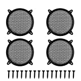 """X AUTOHAUX 4pcs Grill Cover 8"""" MeshProtector Car Speaker Cover Woofer Subwoofer Grill"""