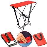 4 sillas de bolsillo para pesca y camping