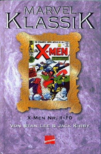 MARVEL KLASSIK Hardcover Bd. 3,X-MEN Hefte 1-10, (Reprint der Original-US-Comicserie)