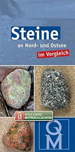 Steine an Nord- und Ostsee im Vergleich (Quelle & Meyer Bestimmungskarten)