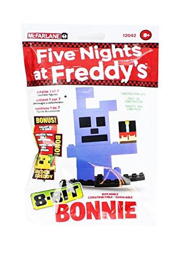 Five Nights At Freddy's - McFarlane Toys cinque notti di Freddy - Bonnie 8-Bit Figura edificabile