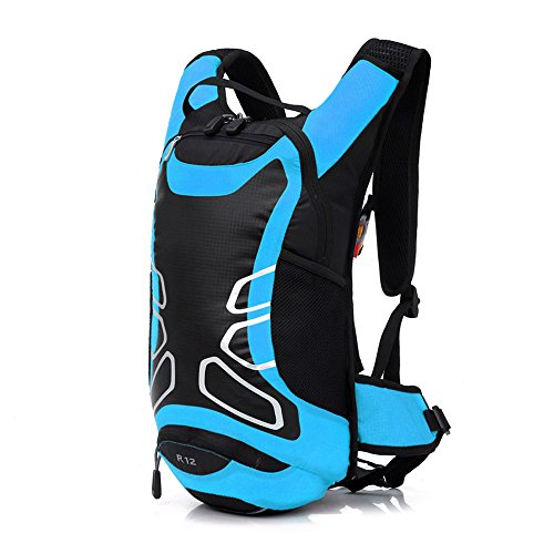 Anself 12L impermeabile spalla bici zaino della bicicletta zaino ultraleggero Sport Outdoor equitazione Viaggi Alpinismo Idratazione sacchetto di acqua.
