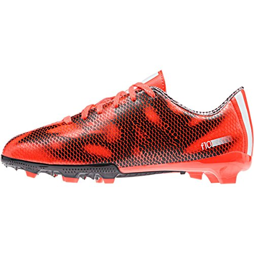 adidas F10 Firm Jungen Fußballschuhe solar red/ftwr white/core black