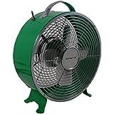 Retro Tischventilator mit 2 Geschwindigkeitsstufen Emerio FN-110001 grün