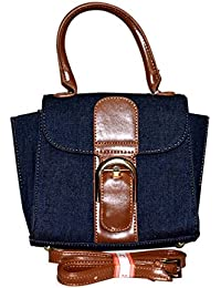 Rahseh Fashion PU Sling Bag/Hand Bag With Stylish Jeans Design