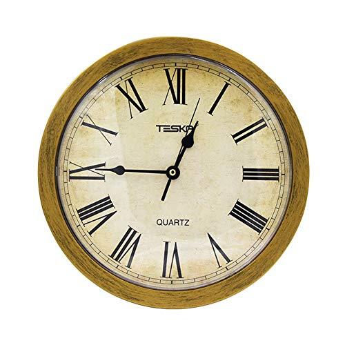 Speicher-Wanduhr-runder versteckter sicherer Quarz-Uhr Retro ruhig mit geheimem Fach Stash-Regal für Innenwohnzimmer