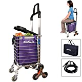 Top 10 Stair Climbing Carts of 2019 - Best Reviews Guide