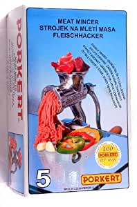 Mincer Size -5 Porkert Brand Guaranteed quality: Amazon.co