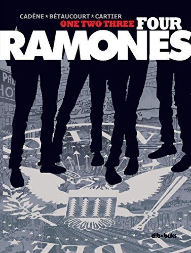 One Two Three Four Ramones (_Vela Gráfica) por Bruno Cadène