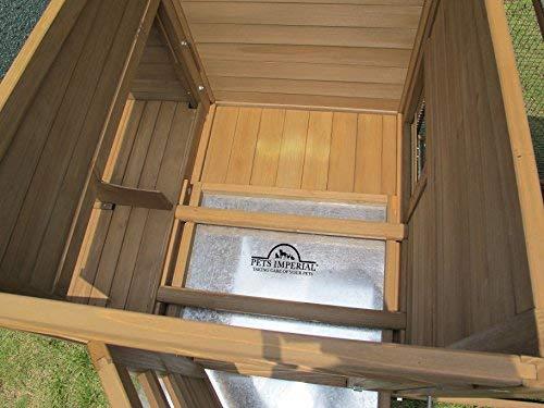 Pets Imperial® Blenheim Hühnerstall mit extra langen Auslaufflächen 8ft/2,5m und Maschendrahtabdeckung geeignet für 4/6 Vögel je nach Größe - 5