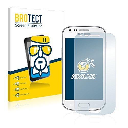 BROTECT Pellicola Vetro Compatibile con Samsung Galaxy Trend Plus S7580 - Vetro Prottetivo, Flessibile 9H, AirGlass