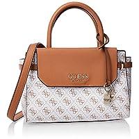 GUESS Women's Satchel Handbag, White - SG758205