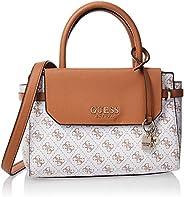 GUESS Women's Satchel Handbag, White - SG75