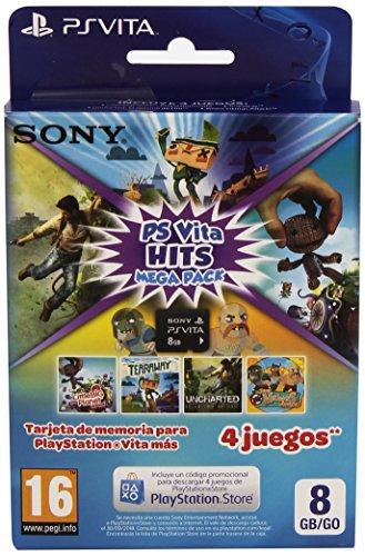 Sony–Memory Card 8Go hits Mega Pack (Playstation Vita)