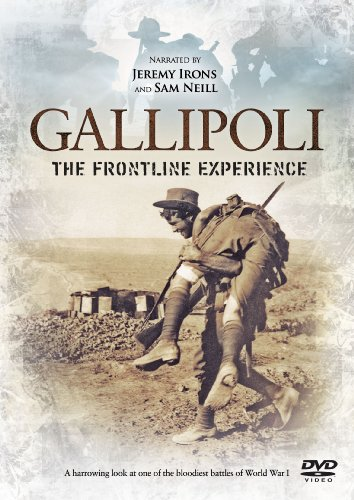 gallipoli-the-frontline-experience-narrated-by-jeremy-irons-and-sam-neill-dvd-import-anglais