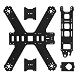 XCSOURCE Durable 210 3K Carbon Fiber 4 Axis Mini H Miniquad Quadcopter Racing Drone Multicopter Frame RC185
