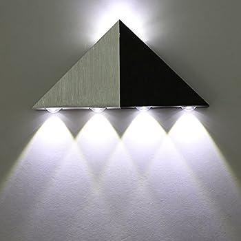 Coocnh Applique Murale Interieur LED Effet Moderne 3W Blau en ...