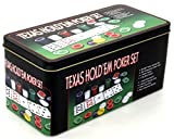 Pokerset TEXAS HOLD'EM POKER SET - Das Komplettset für Pokereinsteiger