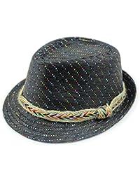 Versión Corea sombrero parpadea/El sombrero de verano Inglaterra/Sombreros de paja de los hombres/Sombrero de Copa/Sombreros de jazz/Parejas arena tapa