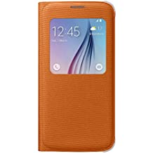 Samsung BT-EFCG920BO - Funda para Samsung Galaxy S6 G920F, color naranja