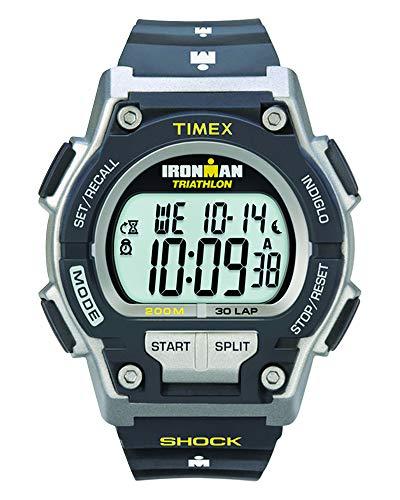 Timex Herren-Armbanduhr Schwarz Digital Kautschuk T5K195SU