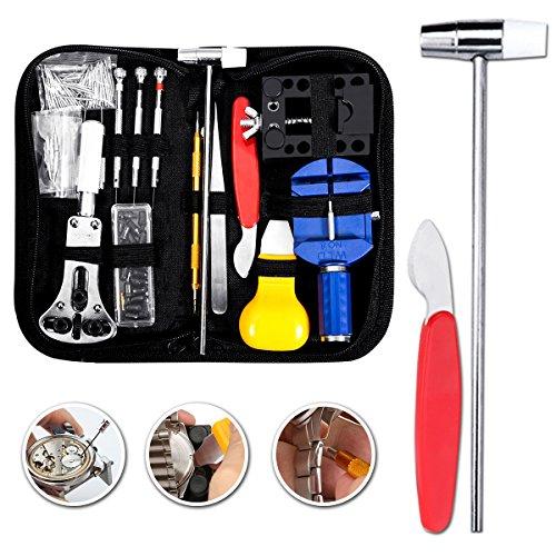 Baban Uhrenwerkzeug Set 147tlg Uhrmacherwerkzeug Uhr Werkzeug Tasche -