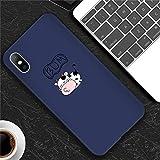 HANSHUO téléphone Case téléphone Case Coque téléphone pour iPhone X XS Max XR...