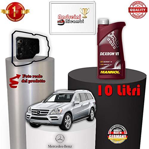 KIT FILTRO CAMBIO AUTO E OLIO X164 GL 450 250KW DAL 2009 -> /1076