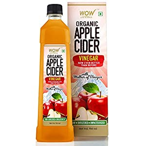 WOW Raw Apple Cider Vinegar – with strand of mother – Not from concentrate – 750ml