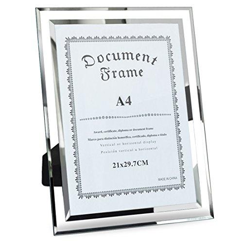 Giftgarden A4 Format großer Glas Bilderrahmen Dokumente Rahmen Großen Rahmen Gläser
