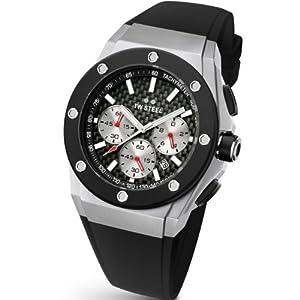 TW Steel CE4020 - Reloj de pulsera unisex, silicona, color negro de TW Steel