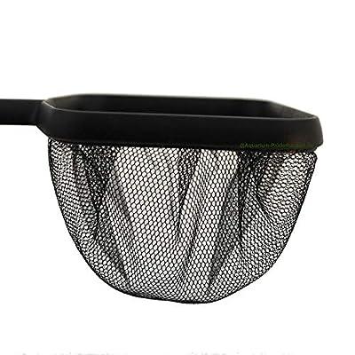 Aquarium Fischnetz, Fangnetz, Netz aus Nylon feinmaschig, Langer Griff, Kleiner Kescher