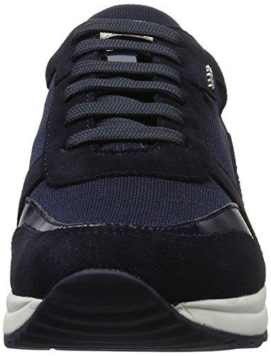 Geox D Airell C, Sneakers Basses Femme Bleu (Navyc4002)
