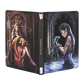 Friends Forever and Water Dragon Notebook Journal by Anne Stokes