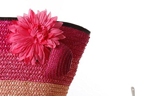 Flada, Borsa a mano donna rosa Rosy 1 medium Lightgreen