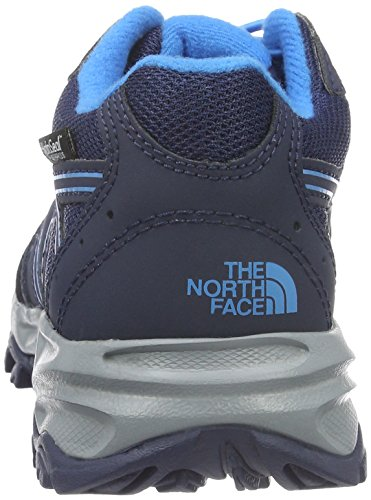 THE NORTH FACE Unisex-Kinder Jr Hedgehog Hiker Wp Low-Top Mehrfarbig (Csmcblu/Bluastr Hyr)