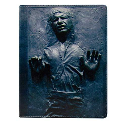 EJC Avenue Apple iPad Mini 4 Star Wars Plegable Tableta Caso/Protector PU Cuero Cubrir/Suministrado con Tela De Pantalla Solo