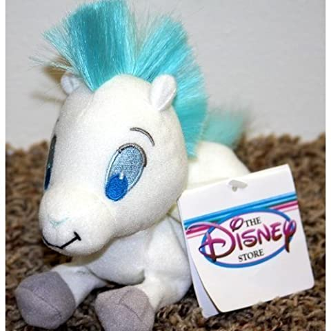 Retired Disney Hercules Baby Pegasus 7 Plush Bean Bag Doll Mint with Tags by Disney