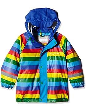 Kozi - Giacca da pioggia, Koster, Multicolore (Arcobaleno), 100 cm
